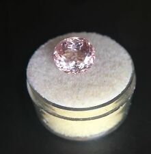 Big NATURAL Morganite 3.73ct Peach Pink TOP GRADE Beryl Oval Cut Rare Loose Gem