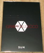 EXO SING FOR YOU SMTOWN COEX Artium SUM OFFICIAL GOODS CHANYEOL STICKER SET NEW