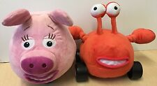 Disney Jungle Junction Large Plush Soft Toy Wheels Zooter & Taxi Crab