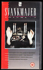 SVANKMAJER - VOLUME 2 - JABBERWOCKY, PUNCH & JUDY, OSSUARY - VHS PAL (UK) VIDEO