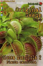 5 Semi/Seeds DIONEA Muscipola 2 - Pianta Carnivora