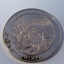 +1786 SHAY'S REBELLION Against High Tax Franklin Mint BRONZE Medal Uncirculated