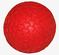 "Back Yard Ball / Soft Rubber Bounce Ball / 8"" Rubber Ball – Red NEW!"