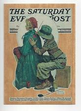 Norman Rockwell Collector The Artist Card #W1 The Saturday Evening Post
