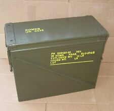 Large 20 MM Ammo Can-Hunting -Camping-Metal Tool Box