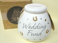 "'Pot of Dreams ""standard"" Wedding Fund ""Money Box/vaso. NUOVO per"" 2016' Post veloce"