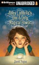 Abby Carnelia's One and Only Magical Power by David Pogue (2014, MP3 CD,...