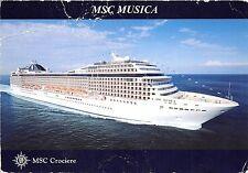 BF37455 msc musica crociere   Boat Ship Bateaux