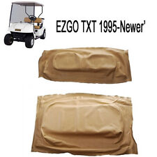 EZGO TXT/Medalist 1995-2013 Golf Cart TAN Seat Cover Set 71602-G04, 71753-G04