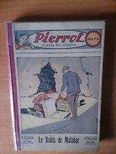 PIERROT Album 16 numeros 31-52 (5 aout 1934-30 décembre 1934)