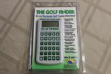The Golf Finder Electronic Instant Course Directory Guide Ultradata Gift NEW