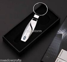 Hyundai Key Ring NEW - Silver Chrome Metal - Car Key Ring -