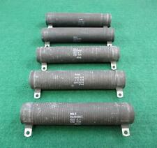"DALE RW35V5R1 4"" Fixed Wire Resistor 501 Ohms 55W NOM 8246 ~ Lot of 5"
