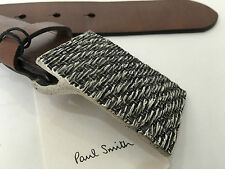 "Paul Smith VERY rare tissé boucle large jeans ceinture 30"" bnwt RRP £ 110"