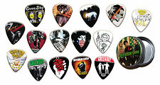 Green Day 15 X Guitar Picks with Tin ( Gold Edition )