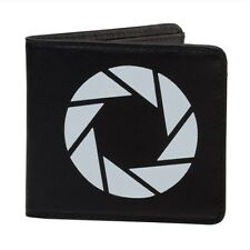 Portal 2 Aperture Laboratories Logo Leather Bifold Wallet - Officially Licensed