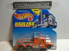 Hot Wheels Haulers Orange Racing Parts Semi