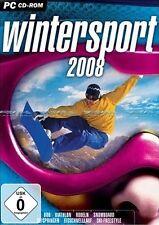 Wintersport 2008 - 7 Disziplinen Simulator für Pc Neu/Ovp