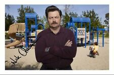 NICK FERMAN - PARKS AND RECREATION AUTOGRAPHED SIGNED A4 PP POSTER PHOTO