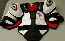 Easton Stealth S1 Shoulder Pads Chest Protector Sr Sz M- Good Condition