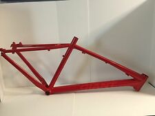 2014 Giant Talon 5 Custom Red Powder Coat Mountain Bike Frame Aluminum 27.5 MTB