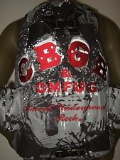 CBGB & OMFUG Home of Underground Punk Rock Laptop Skateboard Straps Backpack Bag