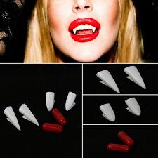 Fancy Dress Vampire Teeth Denture Fangs Bites Party Costume Halloween Props