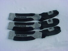 3 Pair Of DC Shoe Company Cirque Snowboard/Ski Merino Wool Socks Size Medium NEW