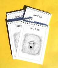 Poodle Pack of 4, A6 Dog Notepads Gift Set