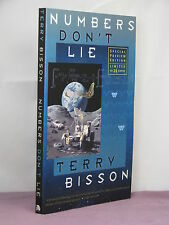 1st,signed by author,Numbers Don't Lie by Terry Bisson(2005) limited ed K of A-Z