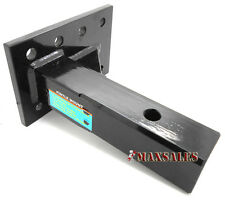 """Trailer Receiver Pintle Mount 2"""" 10,000 lbs HD Hitch Adjustable Flat Plate"""