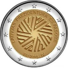 Latvia 2015 - 2 Euro Commemorative-  Presidency of the Council of the EU  (UNC)