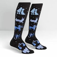 Sock It To Me Women's Knee High Socks - Zodiac