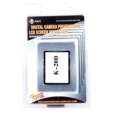 GGS DSLR LCD Optical Glass Screen Protector for Pentax K20D camera, GGS K20D