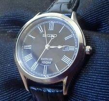 NEW ladies SEIKO 7N82-0JD0 quartz date wristwatch all orginal mint runs great 2T