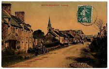 CPA 50 - RAUVILLE la BIGOT (Manche) - Le Bourg (carte brillante)