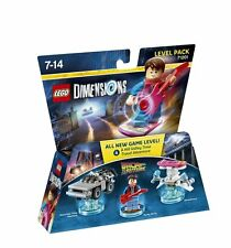 LEGO Dimensions: Level Pack - Back to the Future (PS3/WII U/PS4/XBOX ONE/360 NEW
