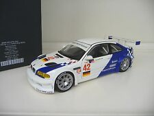 1:18 Minichamps BMW M3 E46 GTR J.J Lehto/Jörg Müller 2001 Dealer Edition NEU NEW