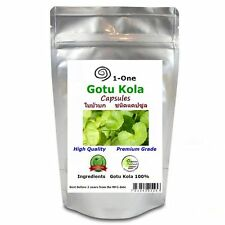 1,000 Gotu Kola  Capsules @500 mg  Centella asiatica Pure Natural Thai Herb