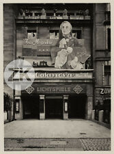 CASANOVA Ivan MOSJOUKINE UFA KINO Berlin CINEMA Bilinsky Architecture Photo 1927