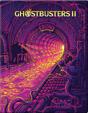 Ghostbusters II 2 (Blu-ray Disc, 2016, Project Pop Art Steelbook, Best Buy)