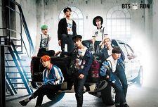 """BTS BANGTAN GROUP MUSIC POP KOREAN BOY THE POSTER 24""""x36"""" NEW SIDE SHEET J-0023"""
