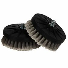 Cyclo Gray Soft Leather Brush, Pair for Cyclo Model 5 Pro Polisher Scrubber