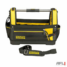 """Stanley Fatmax Open Tool Storage Tote Bag 46cm(18"""") - Compartments, Saw Storage"""