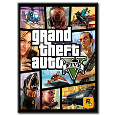 Grand Theft Auto V (PC, 2015) Rockstar Digital Download Key