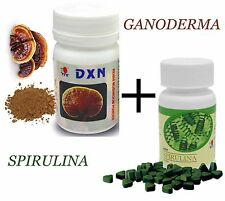 DXN Spirulina 120 + Reishi mushroom powder - ganoderma plus spirulina togather