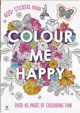 COLOUR ME HAPPY 45 PAGES OF COLOURING FUN  HINKLER BOOKS