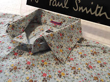 """PAUL SMITH Mens Shirt �� Size 16.5"""" (CHEST 44"""") ��RRP £95+��FLORAL LIBERTY STYLE"""