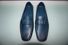 AUTHENTIC MENS LOUIS VUITTON MONTE CARLO MOCCASIN LOAFER SHOES LV7...8US  $800