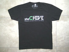 The Chive KCCO Keep Calm and Chive On Black MEDIUM Best Site in the World Shirt